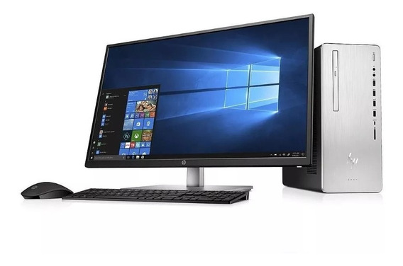 Hp Desktop Envy Tela 32 I7+8700 2tb 28 Gb Ram 2tb Hd