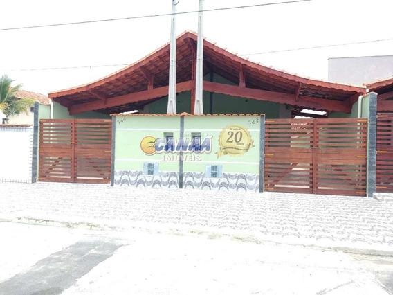 Casa Novíssima C/ 2 Dorm E Suíte Em Mongaguá Ref.: 7799 E