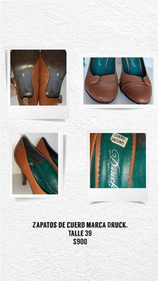 Zapato Mujer, Taco Alto, Marca Druck