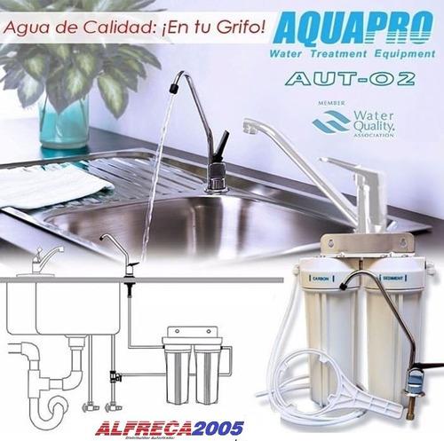 Filtro Para Agua De 2 Etapas Aquapro Au2 Casa Y Aquarios