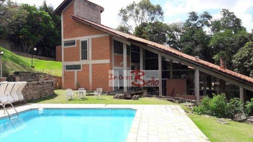 Chácara Com 5 Dormitórios À Venda, 7069 M² Por R$ 1.950.000,00 - Condomínio Itaembu - Itatiba/sp - Ch0251