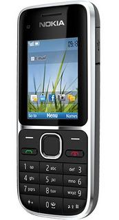 Nokia C2-01 3g Desbloqueado Preto Anatel (novo)
