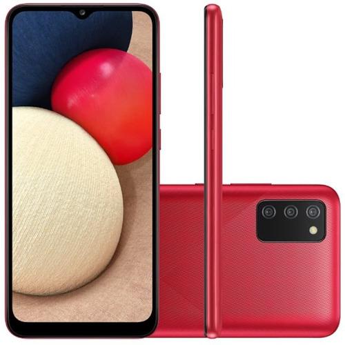 Celular Smartphone Samsung Galaxy A02s A025m 32gb Preto - Dual Chip