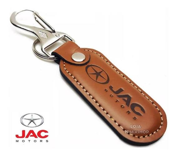 Chaveiro De Couro Jac Motors Carro Couro T40 Suv J5 J6