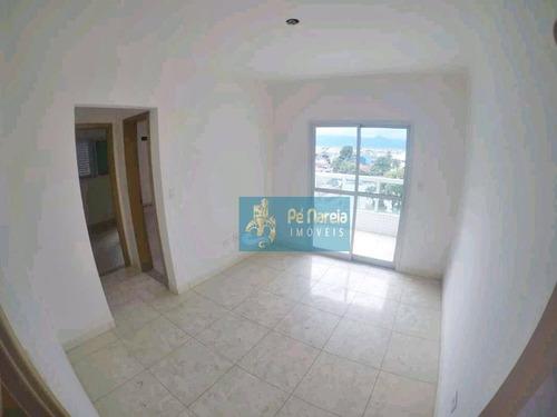 Apartamento Com 1 Dormitório, Sacada Gourmet, 1 Vaga, À Venda, 43 M² Por R$ 218.000 - Vila Guilhermina - Praia Grande/sp - T1g646a - Ap0165