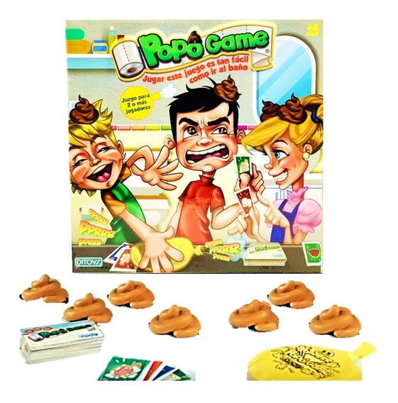 Juego De Mesa Popo Game Original 55 Piezas Infantil Ditoys