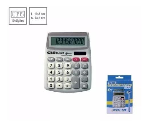 Calculadora De Mesa Cis C-204 Sertic