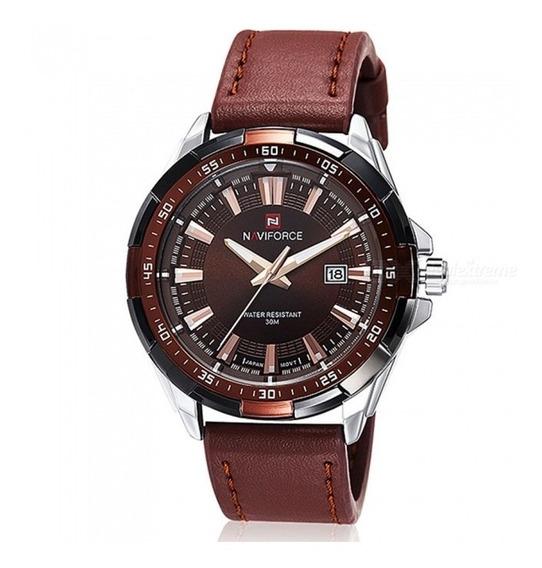 Relógio Masculino Luxo Naviforce 9056 Original Promoção,
