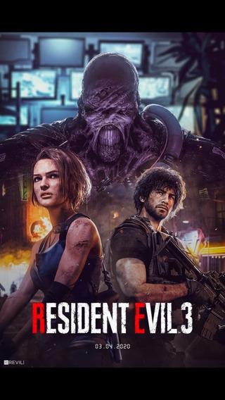 Resident Evil 3 Remake Ps4 Aluguel 15 Dias