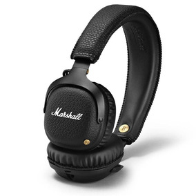 Fone De Ouvido Marshall Black - Mid Bluetooth