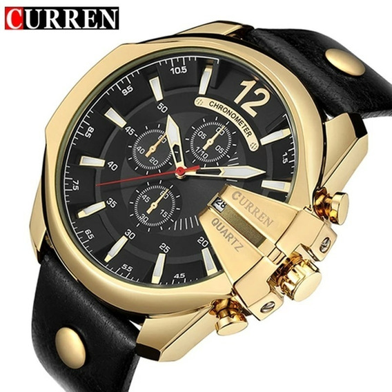 Relógio Original Curren Men Quartz Watch