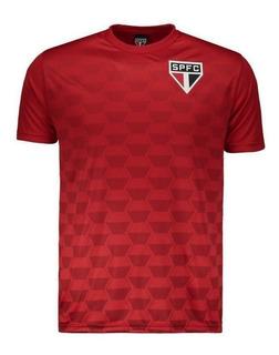 Camiseta Camisa São Paulo Vermelha Top Oficial Nova