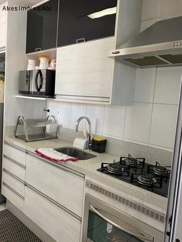 Apartamento À Venda 72m² No Taboão - São Bernardo Do Campo - 2 Dormitórios Sendo 1 Suíte Com Planejados, Varanda Gourmet. - Ap01271 - 69275219