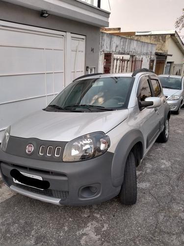 Imagem 1 de 7 de Fiat Uno 2012 1.0 Way Flex 5p Básico - S/ Ar E Direção