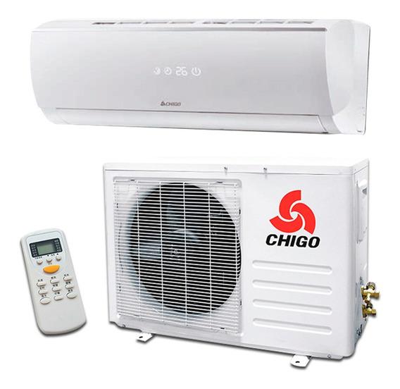 Aire Acondicionado Chigo 12000 Btu Alta Eficiencia Control