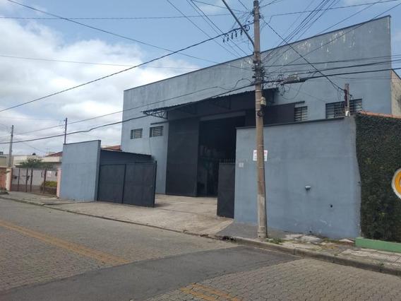 Galpão À Venda Por R$ 1.500.000 - Vila Mogilar - Mogi Das Cruzes/sp - Ga0003