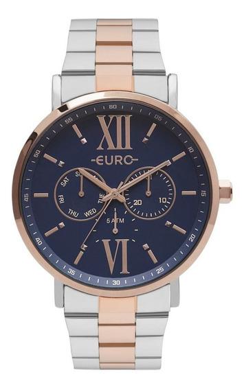Relógio Euro Metallics Bicolor Feminino Eu6p29aketd/5a