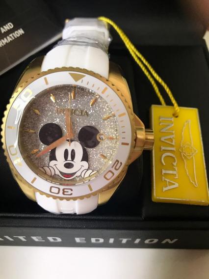 Relógio Invicta Angel Ed.limitada Disney Autêntico C/ Nf