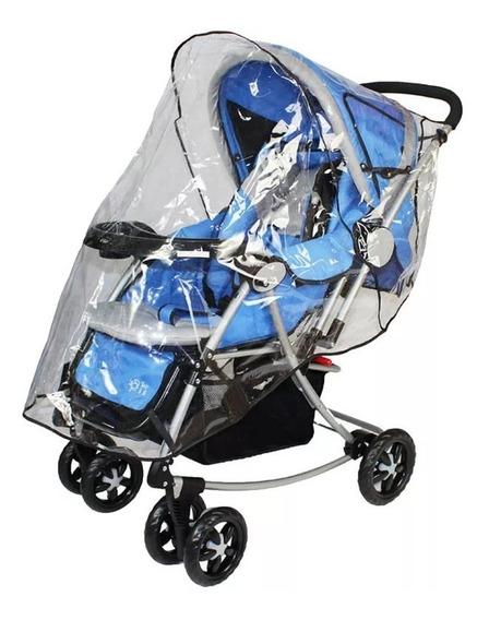Capa Protetora De Chuva Para Carrinho De Bebê - +1bb