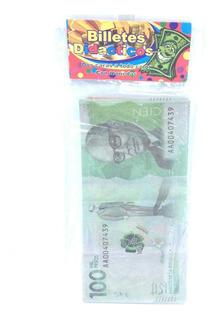 Billetes Didácticos Bromas Full Color Pesos Cop