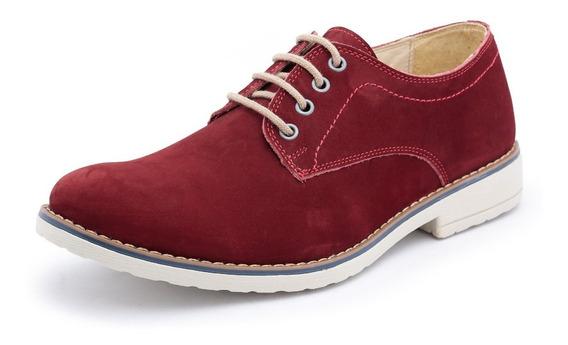 Sapato Casual Social Masculino Estilo Bergally Couro