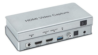 Capturadora De Video Hdmi