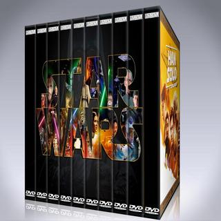 Star Wars Saga Completa Pack 10 Películas Colección En Dvd
