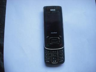 Teléfono Nokia Modelo 8208 Para Repuesto