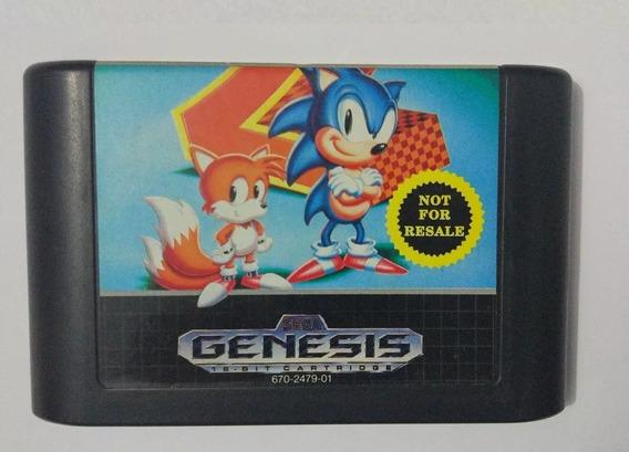 Sonic The Hedgehog 2 Jogo Original Para Mega Drive