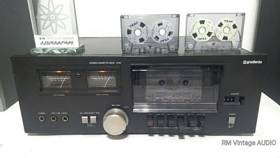 #1 Tape Deck K7 Gradiente S96 Restaurado C/ Garantia E Vídeo
