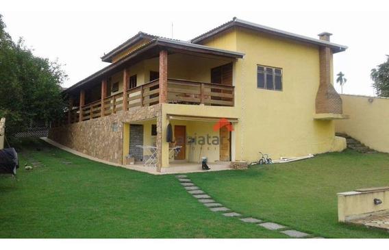 Casa Com 4 Dormitórios À Venda, 310 M² Por R$ 1.200.000,00 - Conjunto Residencial Araretama - Pindamonhangaba/sp - Ca0080