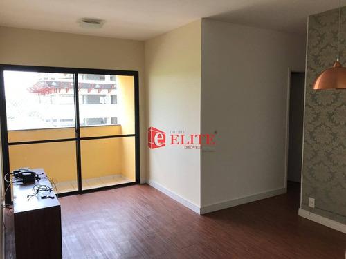 Imagem 1 de 15 de Apartamento Com 3 Dormitórios À Venda, 62 M² Por R$ 280.000,00 - Parque Industrial - São José Dos Campos/sp - Ap3596