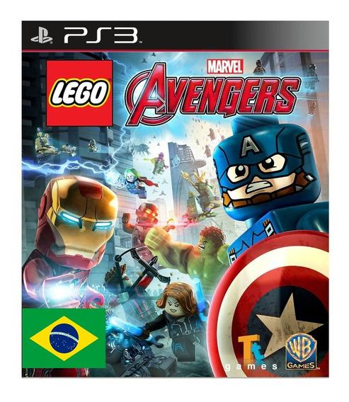 Lego Marvel Vingadores Ps3 Portugues Jogo Infantil Criancas