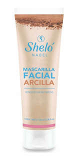 Mascarilla Arcilla Facial Shelo Nabel Piel Grasa