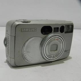 Câmera Analógica Samsung Fino 80 - Cinza No Estado