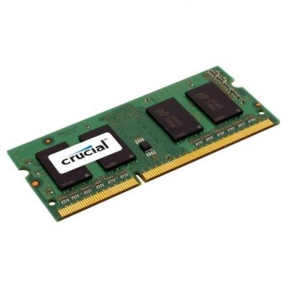 Memoria Crucial Ddr3 8gb 1600mhz (pc3l-12800) Cl11 Sodimm 13