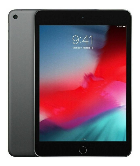 "iPad Apple mini 5ª Generación 2019 A2133 7.9"" 64GB space grey com memória RAM 3GB"