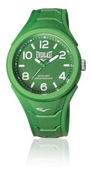 Relógio Everlast Verde E704