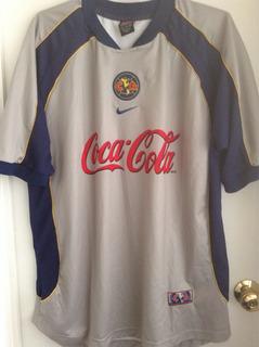 América Nike Gris Grande 2001-02