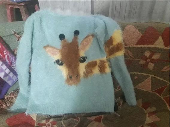 Sweater Zara Niña Importado