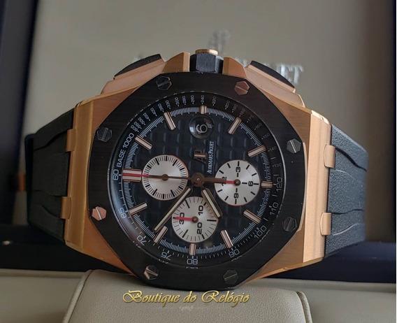 Relógio Eta - Modelo Roo Chronograph Gold Ceramic - 44mm