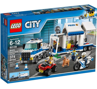 Set De Construcción Lego City Centro De Comando Móbil-