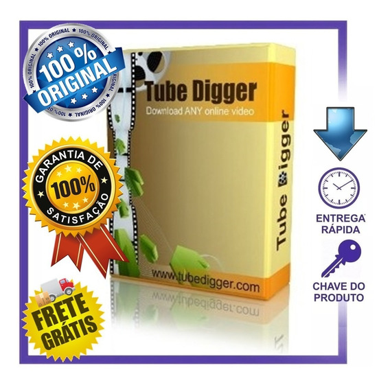 Serial Original Tubedigger(baixar Videos De Sites Blindados)