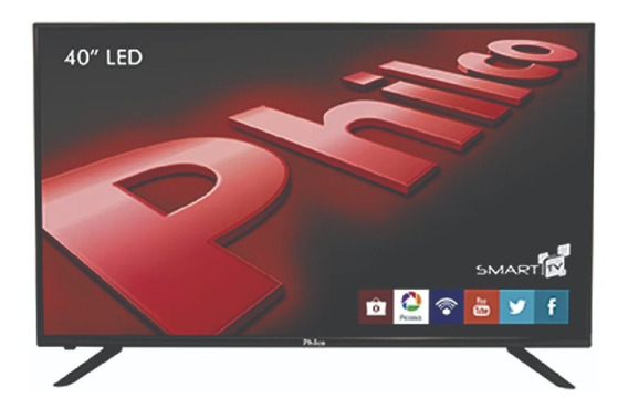 Tv Led Smart 40 Ph40u21dsgw Full Hd Philco Bivolt