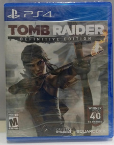 Tomb Raider Definitive Edition.-ps4