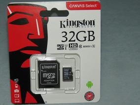 Cartão De Memória 32gb Para Câmera Fotográfica - Original