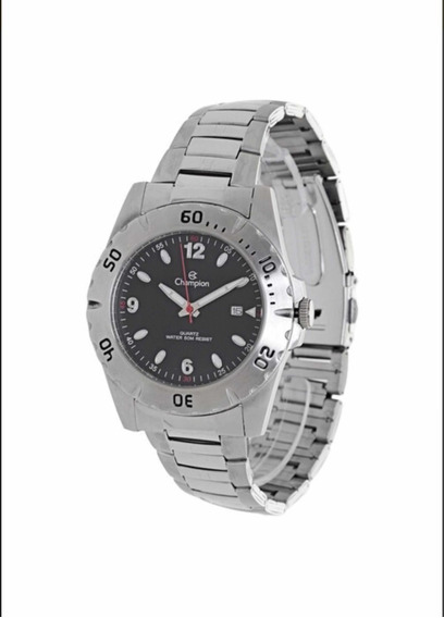 Relógio Champion Masculino Prateado Ca30141t