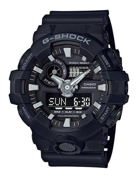 Relógio G-shock Ga-700-1bdr Casio Masculino Preto