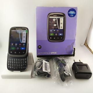 Celular Motorola Spice Xt300 Raridade Leia Anuncio