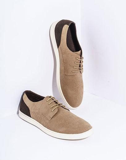 Zapatos Para Hombre Marki Beige